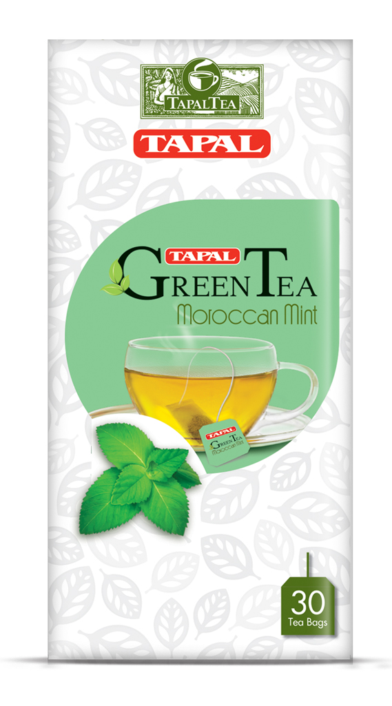 Tapal Green Tea - (Moroccon Mint)