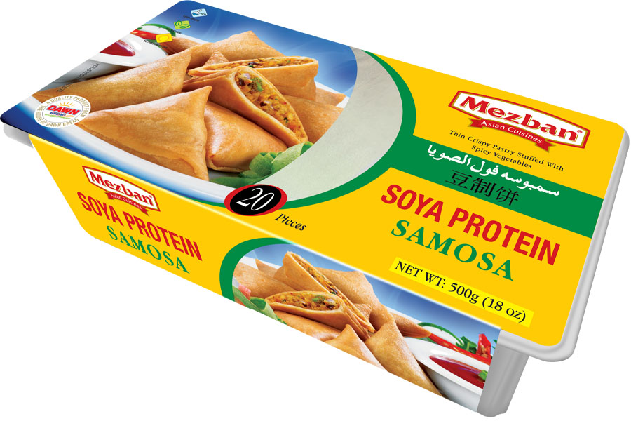 Soy Mince Vegetable Samosa