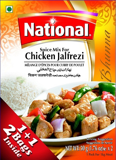 Chicken Jalfrezi Masala 0 00 Darbar Foods Fresh Indian And Pakistani Grocery And Spices