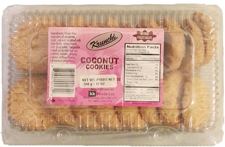 Coconut Cookie 340g