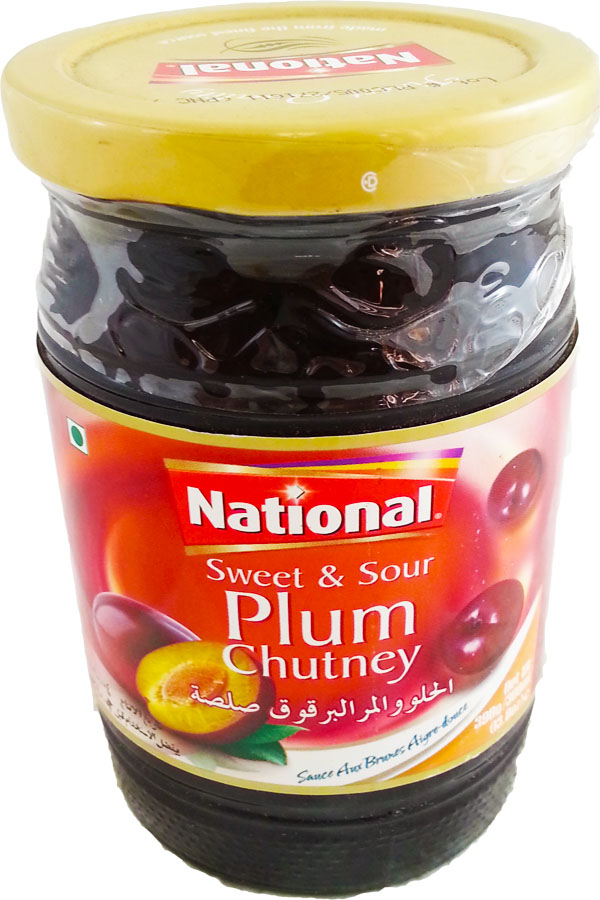 Hot, Sweet Plum Chutney Recipe — Dishmaps