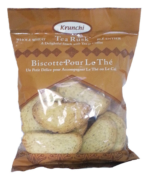Tea Rusk Whole Wheat 200g